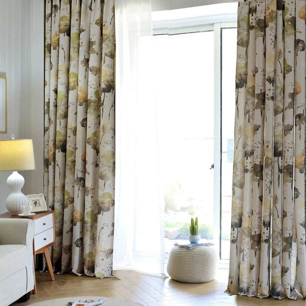 modern lotus patio door curtains eclipse ceiling drapes