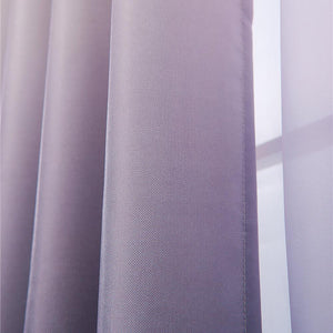 modern ombre curtains bedroom pinch pleat drapes