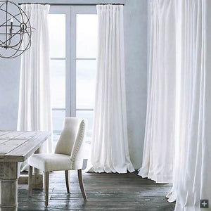 Natural linen drapes for living room stark white curtains for sale