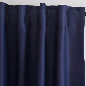 navy kitchen window drapes rod pocket blackout curtains for sale