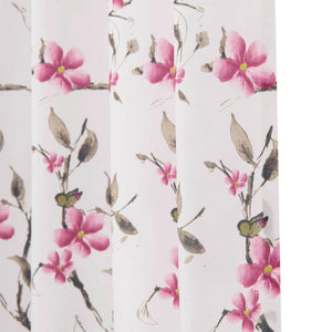 pink flower pinch pleat drapes modern room divider curtain panel