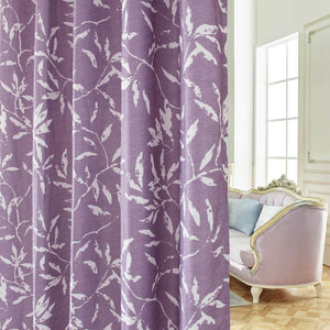 purple drapes for living room