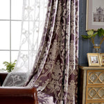 purple grommet bedroom curtains soundproof thermal drapes for sale