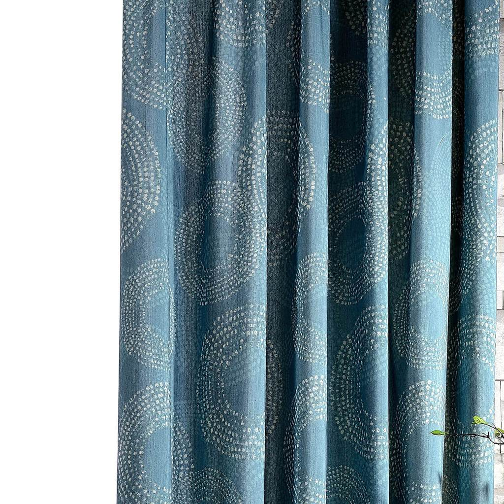 teal blue eclipse curtains living room pinch pleat drapes for sale