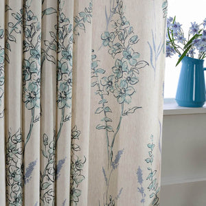 teal sage grommet curtains thermal white linen drapes