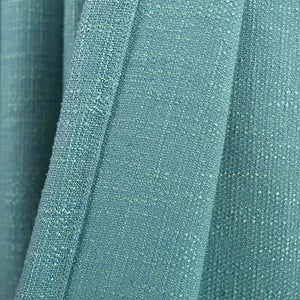 unique teal blue home light blocking curtains outdoor thermal drapes