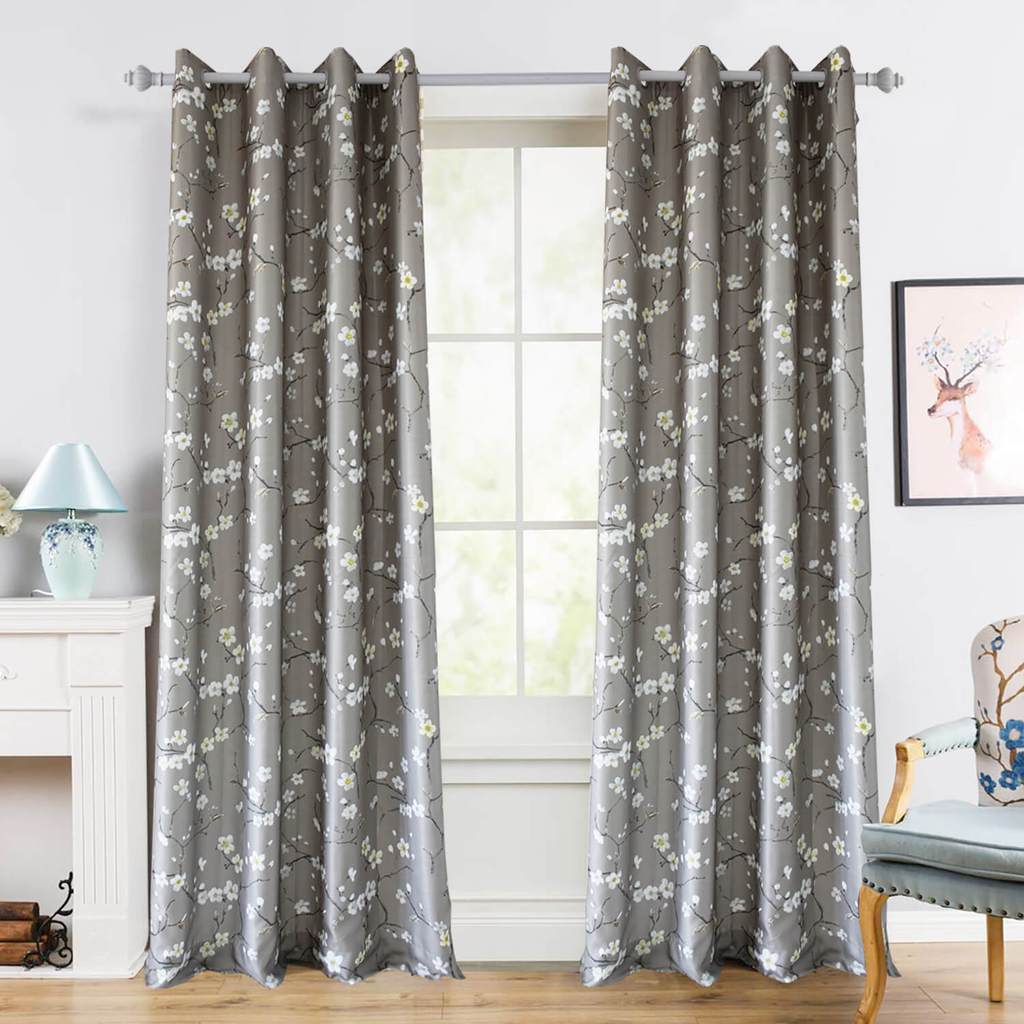 white plum curtains for living room