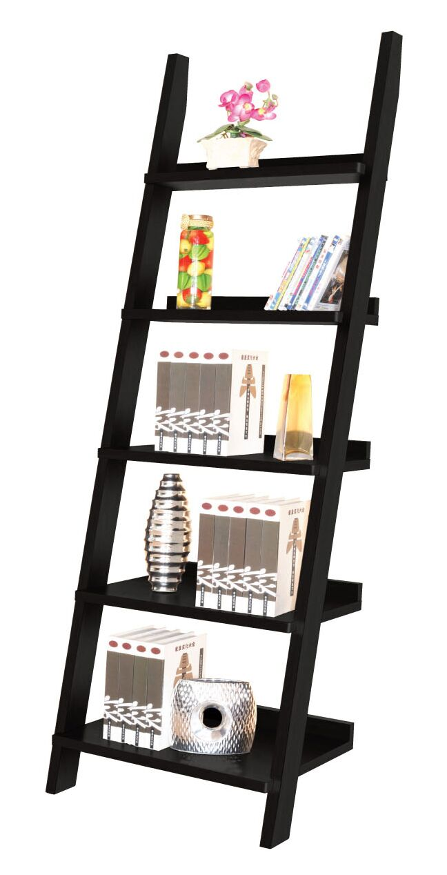 Ladder Bookcase - Espresso