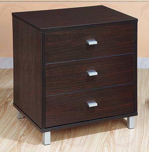 Brighton 3-Drawer Nightstand