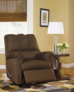 Basics Design Rocker Recliner - Cafe