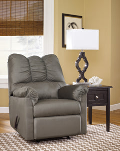 Basics Design Rocker Recliner - Cobblestone