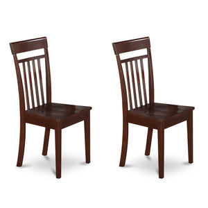 Fairfield Mahogany Chairs - Set of 2
