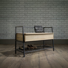 Load image into Gallery viewer, Harvard Storage Bench - Oak