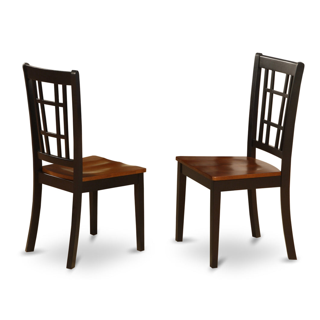 Concord Black Chairs - Set of 2