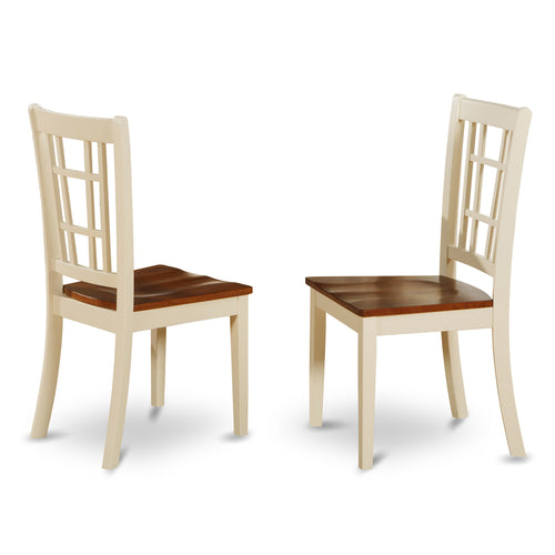 Concord White Chairs - Set of 2