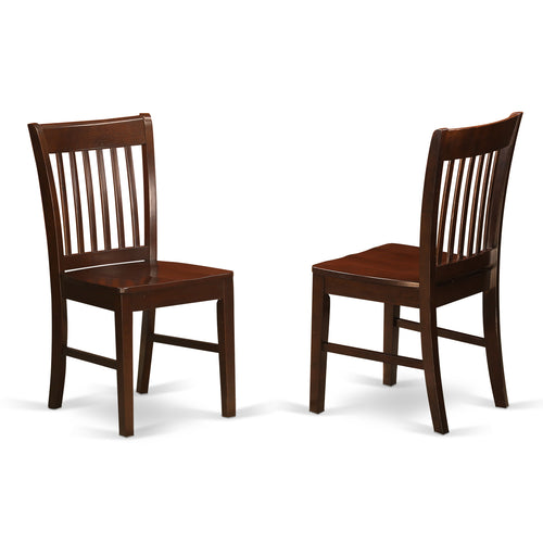 Claremont Mahogany Chairs - Set of 2