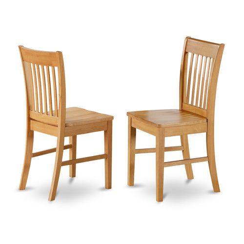 Claremont Oak Chairs - Set of 2