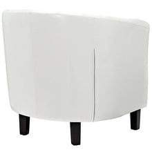 Load image into Gallery viewer, Chance Faux Leather Chair - White
