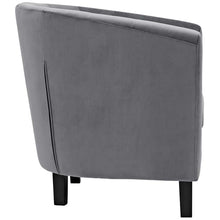 Load image into Gallery viewer, Chance Velvet Chair - Gray