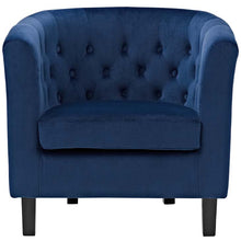 Load image into Gallery viewer, Chance Velvet Chair - Navy