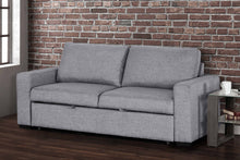 Load image into Gallery viewer, Cori Aqua Velvet Sleeper Sofa