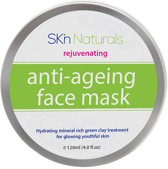 Clay Face Mask for Reducing Fine Lines & Wrinkles - 100% Natural Facial Mask with Collagen - Hydrating, Moisturising & Pore Reducing for Dry or Ageing Skin - Face Mask for Women, Men & All Skin Types