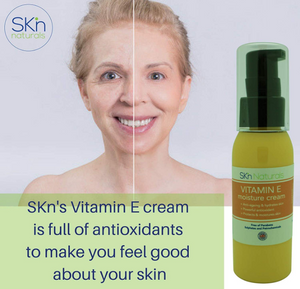 Vitamin E Oil Cream - Relieves Acne, Psoriasis, Scars, Stretch Marks and Dark Spots - Anti-Ageing and Anti-Wrinkle Cream for Face, Body and Hands - with Hydrating Vitamin C Evening Primrose Oil