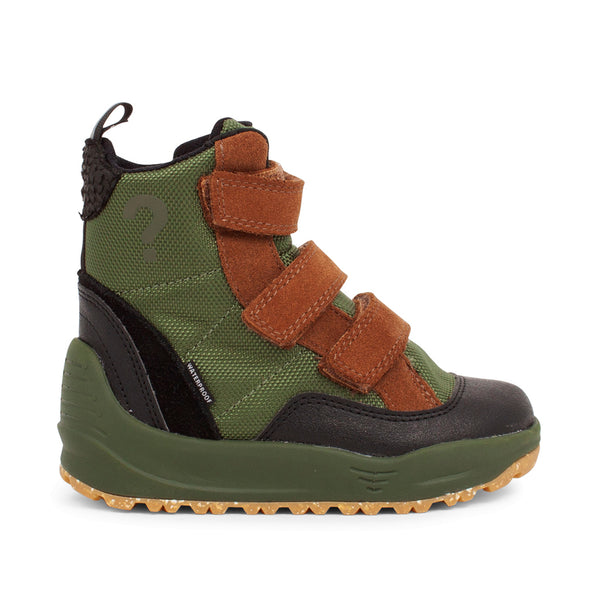 WODEN KIDS Adrian Boot Kids Boots 294 Pine Tree Green