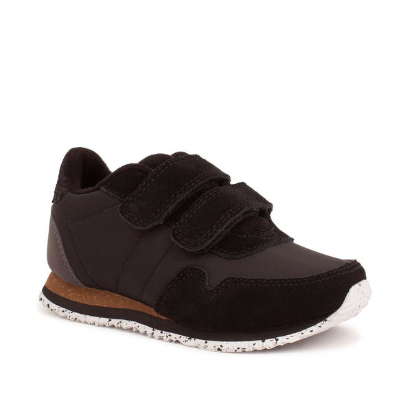 WODEN KIDS Nor Suede Sneakers 020 Black