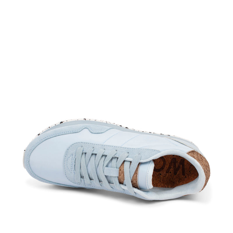 WODEN Nora III Leather Sneakers 522 Ice Blue