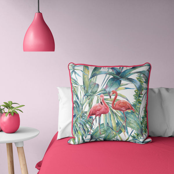 "Flamingo Pillow 20"" x 20"""