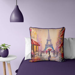 "Paris, France Pillow 20"" x 20"""