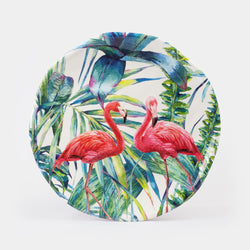 Flamingo Melamine Dinner Plate 10.5""