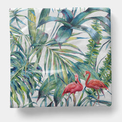 "Flamingo Napkin, Luncheon 6.5"" x 6.5"" - 20ct"