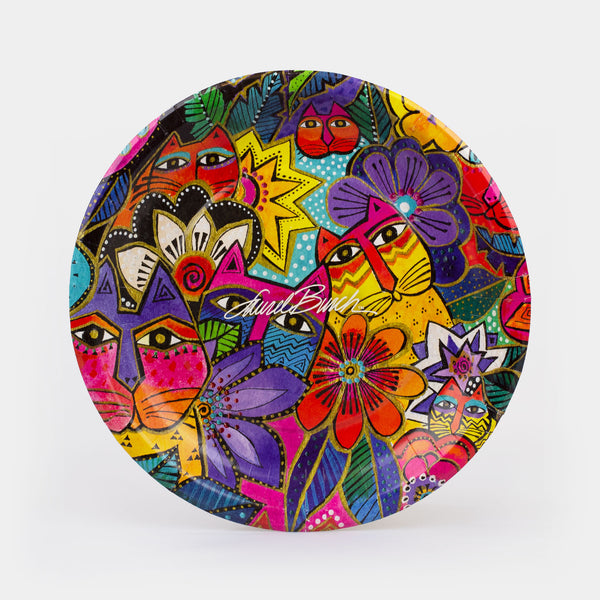 "Burch - Laurel's Garden Paper Plates 10.5"" - 8ct"