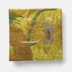 "Van Gogh - Sunflowers Napkin, Cocktail 5"" x 5"" -20ct"