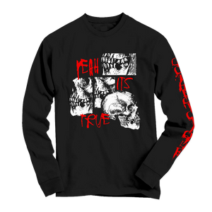 "GOTHBOICLIQUE - ""Yeah It's True"" Long Sleeve Shirt"