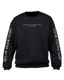 døves - Anti-Police Music Crewneck Sweatshirt *PREORDER - SHIPS JULY 26*