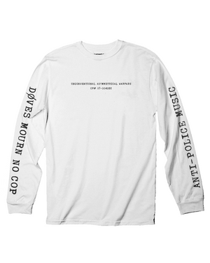 døves - Anti-Police Music Long Sleeve T-Shirt *PREORDER - SHIPS JULY 26*