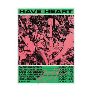 Have Heart Reunion Poster - 18″x24″