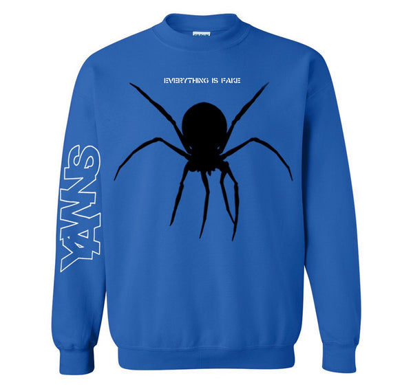 YAWNS - Everything Is Fake Crewneck Sweatshirt