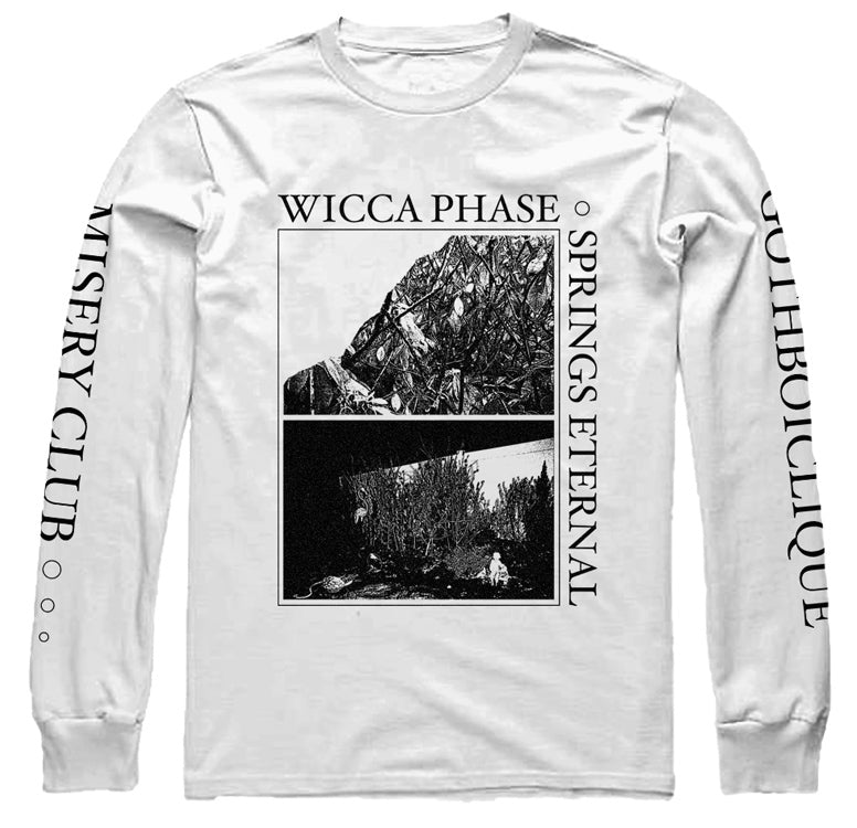 WICCA PHASE SPRINGS ETERNAL - Suffer On Tour Long-Sleeve (White)