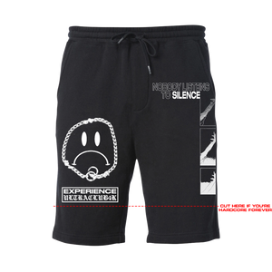 "ULTRACLUB4K - ""Hardcore Forever"" Cotton Shorts *PREORDER*"