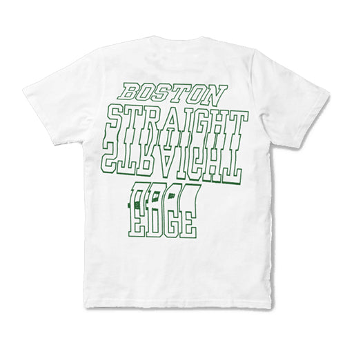 "Have Heart - ""Boston Straight Edge"" T-Shirt  - Green on White"