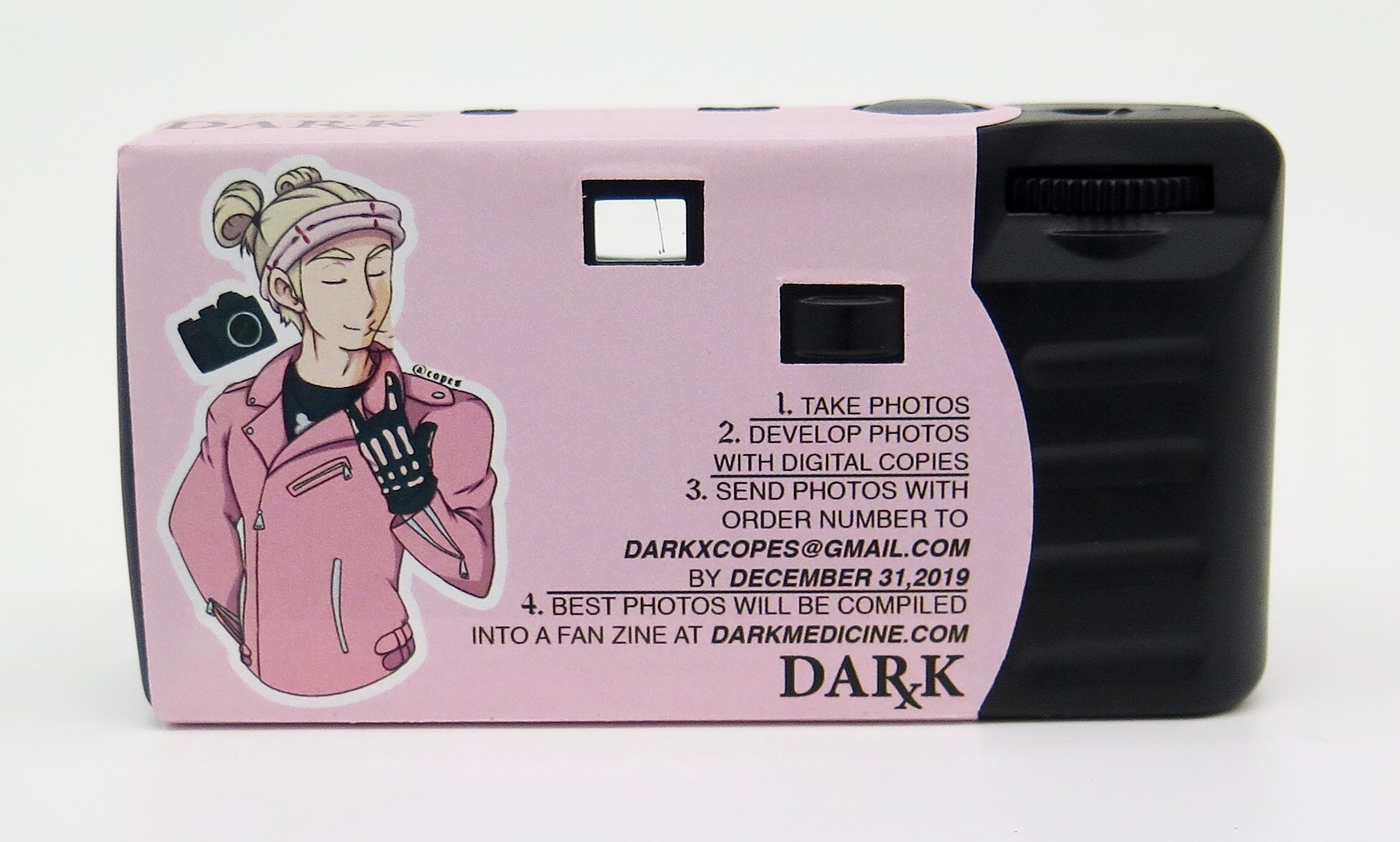 Copes x Dark Medicine Disposable Camera