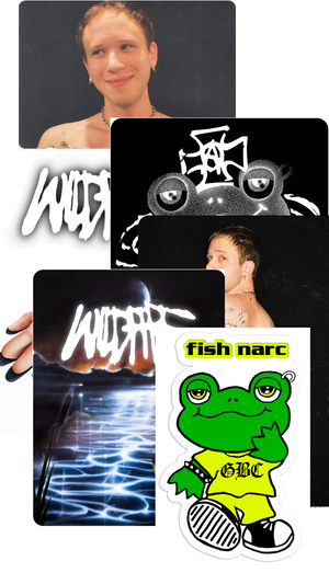 FISH NARC - Sticker Bundle *PREORDER - SHIPS AUGUST 14*