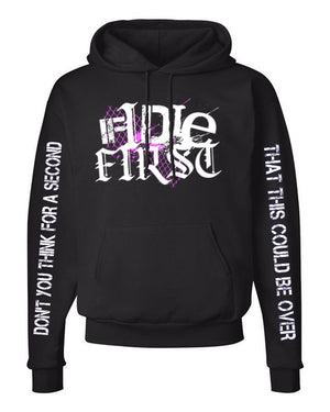 IF I DIE FIRST - Logo Pullover Hooded Sweatshirt *PREORDER*