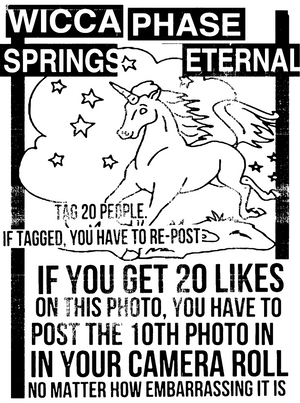 WICCA PHASE SPRINGS ETERNAL - 20 Likes Sticker
