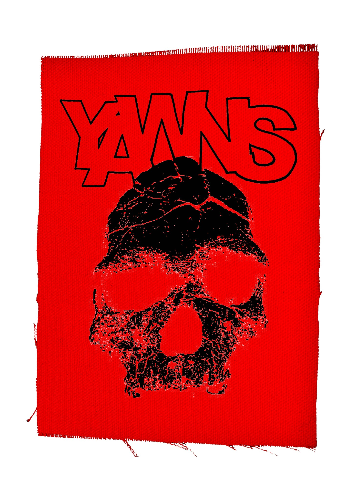 "YAWNS - ""Skull"" Large Patch"
