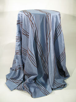 Waves Dupioni Tablecloth